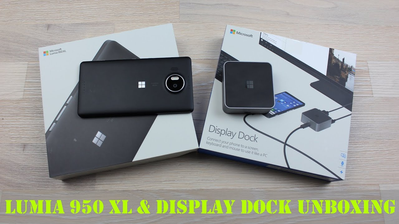 Lumia 950 Xl Dock