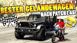 🏁🧐Bester GELÄNDEWAGEN Nach Patch 1.45!🧐🏁Speed+Race Test! [GTA 5 Online After Hours Update DLC]