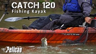 Review:  Pelican Catch 120 Fishing Kayak