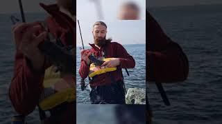 Ловля минтая с берега shorts spinning fishing
