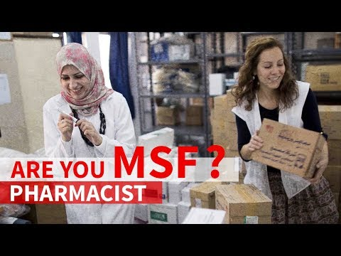 Are you MSF? - Pharmacist