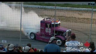 Burnout Clips - Massive Diesel Truck Burn Outs - Burn Rubber Thoroughbred Diesel Judgement Day