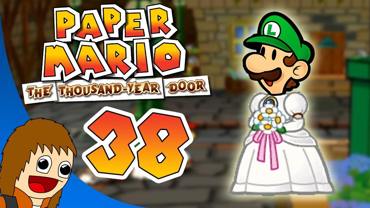 Paper mario the thousand year door luigi gets married for 1000 year door