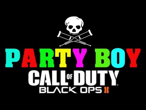 Black Ops 2: Party Boy Reactions! (Jackass Theme Song)