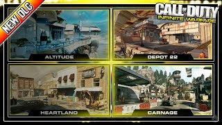 "NEW DLC 4 ""RETRIBUTION"" MAP PACK on INFINITE WARFARE! WARHAWK MAP REMAKE!"