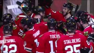 Blackhawks beat the Red Wings in game 7