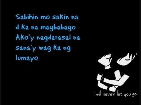 Sana'y wag ka ng lumayo - Marko of Floetics (lyrics)