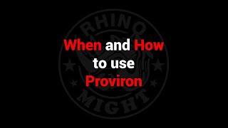 Proviron és prostatitis