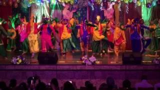 EOI - Moscow Annual Day 2016. Bhangara Dance