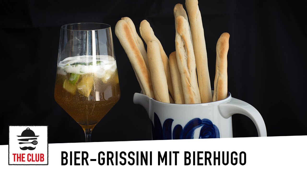 Bier Grissini Mit Bier Hugo Rezept 204 Youtube