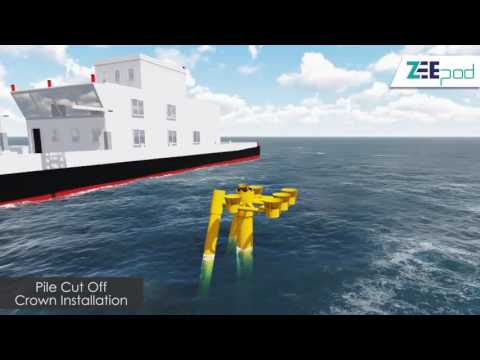 ZEEPod Type 2 Subsea Template - The Minimum Facilities Platform Concept