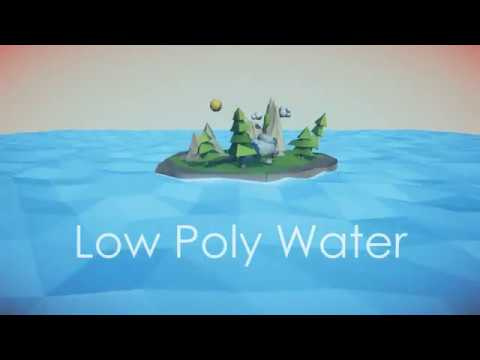 Low Poly Water Unity Package