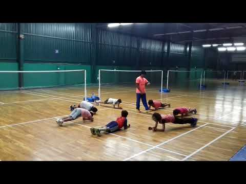 Badminton Fitness Workout