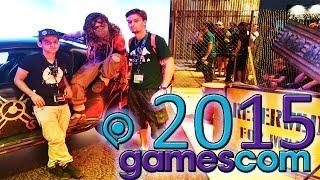 Ziemlich geil auf der GAMESCOM 2015 zusammen mit VASITUR!