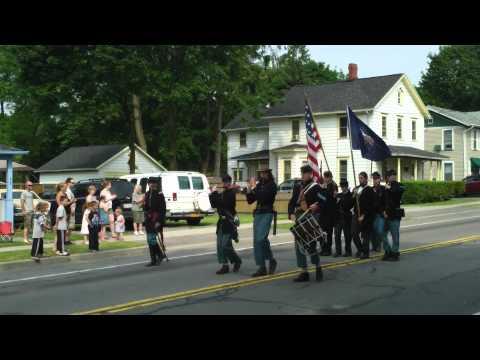 Civil War fife and drum, Caledonia NY parade
