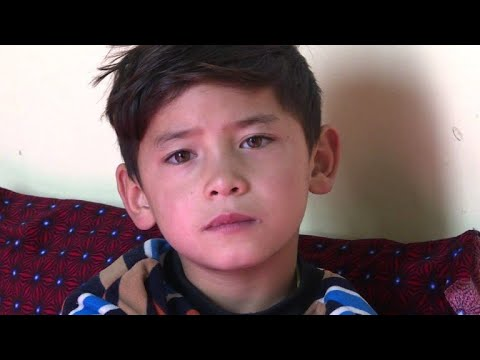 Afghan 'Little Messi' forced to flee