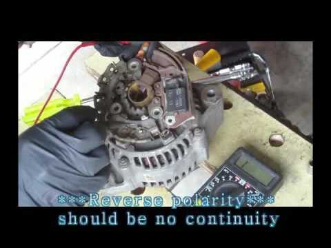 How To Replace Diagnose And Repair Toyota Alternator Disemble Reemble