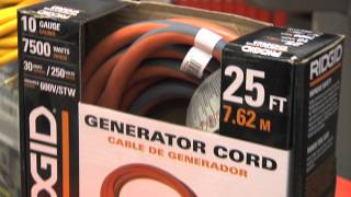 Using a Generator Safely
