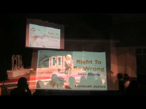 Hannah Jones - Right to be Wrong