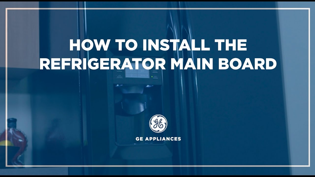 Side By Refrigerator Main Control Board Installation Youtube Parts For Maytag Mav7200aww Panel Appliancepartspros