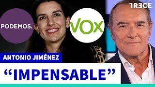 Jiménez: Vox ha hecho lo impensable en la Comunidad de Madrid