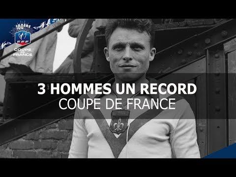 Coupe de France : 3 hommes un record