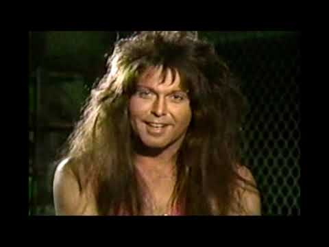 The best BLACKIE LAWLESS (W.A.S.P.) interview you'll ever see - MuchMusic 1989