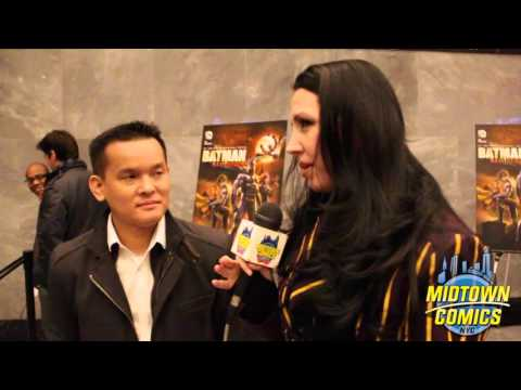 Midtown Comics Interviews Jay Oliva - Batman Bad Blood