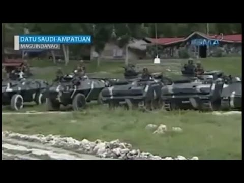Armed Forces of the Philippines all out offensive  Maguindanao 2015