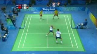 Beijing Olympics Emms/Robertson vs Gao/Zheng Part 4