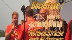 Normen Sträche Backstage Radio B2 SchlagerOlymp 2014