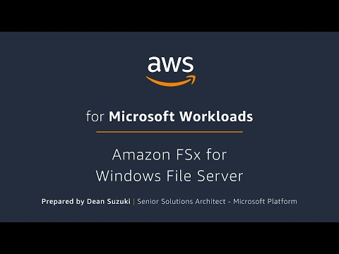 Amazon FSx for Windows File Server