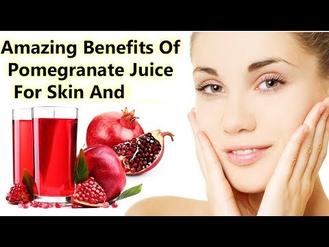 Pomegranate Juice – A Superfood For Good Skin, And Health