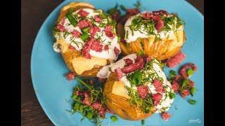 Запеченный картофель в духовке с сыром Простые домашние рецепты