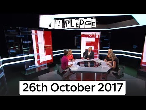 The Pledge   26th October 2017