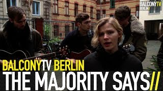 THE MAJORITY SAYS - WHERE IS THE LINE (BalconyTV)
