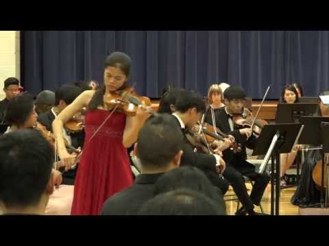 Violin Concerto No. 2, Op. 22, 1st Movement by Wieniawski