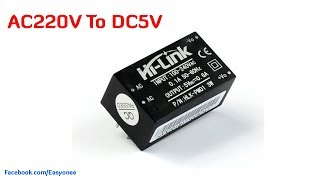 AC-DC 220V To 5V Mini Power Supply Hi-Link Unboxing & Review