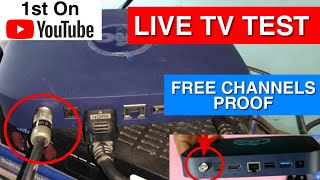 Live TV on Jio Set Top Box 671 Channels | Jio Set Top Box Connect with Normal Dish Antenna Receiver