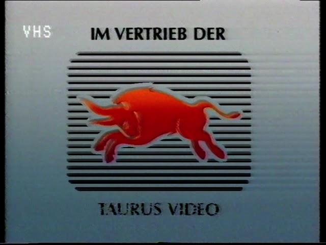 Taurus Video / deutscher VHS Video Vorspann (stammt von der Kassette: Hitchhiker)