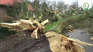 Hevige storm in de gemeente Oldebroek