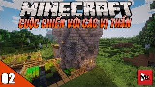 MINECRAFT WAR WITH GODS MODPACK #2 : THOÁT KHỎI DUNGEON THẬT KINH KHỦNG | MK GAMING