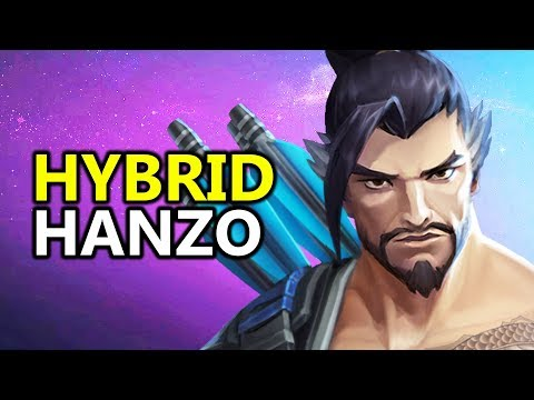 ♥ Hybrid Hanzo Build - Heroes of the Storm (HotS Gameplay)