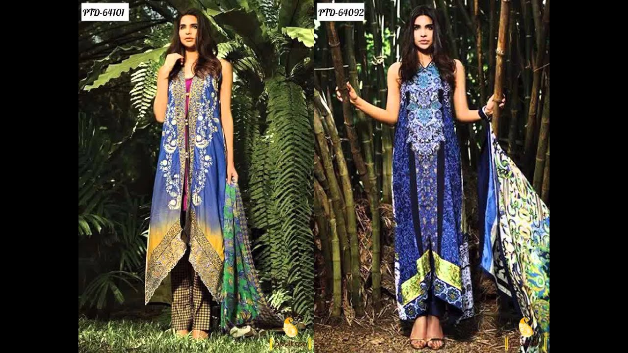 Summer Season Salwar Suits Online Collection - YouTube