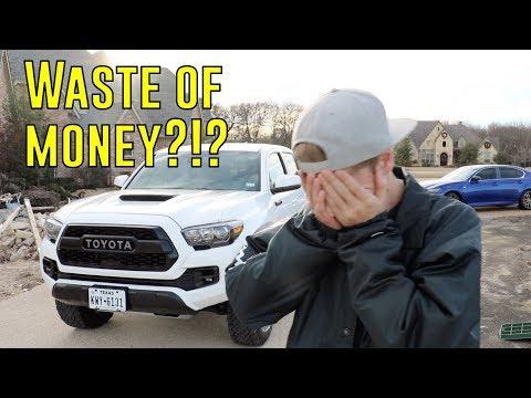 Why I HATE My Tacoma TRD PRO 2018!