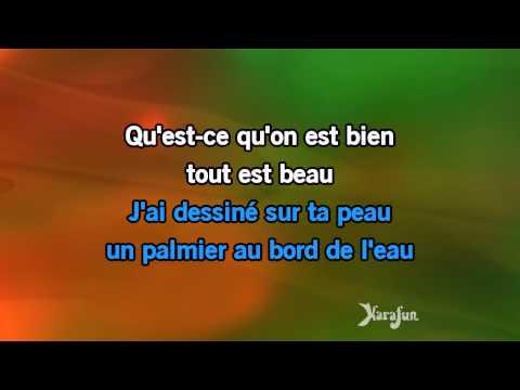 Karaoké Les sunlights des tropiques - Gilbert Montagné *