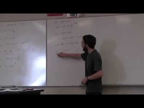 Elementary Pricing Theory - Lecture 1