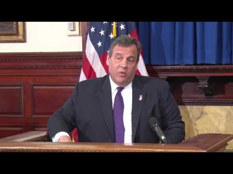 Governor Christie: NJ Unemployment Is Lower Than It Has Been At Any Time Since 2001
