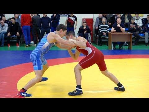 В Тамбове прошли Всероссийские соревнования по греко-римской борьбе