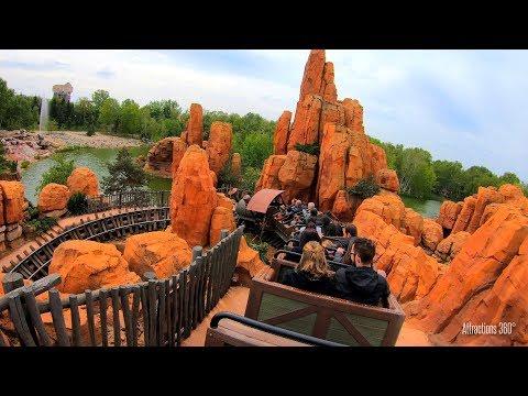 Paris - Big Thunder Mountain Coaster Ride - Disneyland Paris